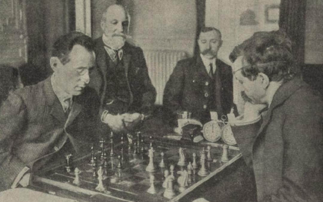 The First Lasker – Janowsky Match