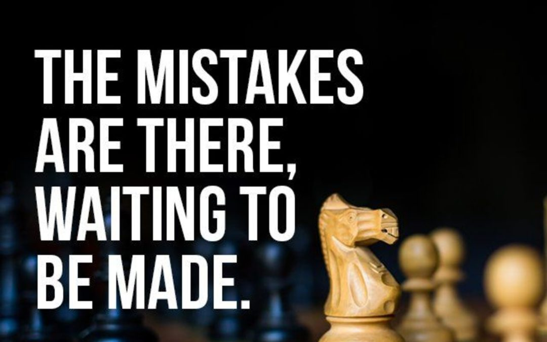 How to avoid making mistakes